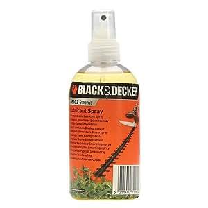 Black+Decker A6102-XJ - Spray universal anticorrosión y lubricante para cortasetos 300ml