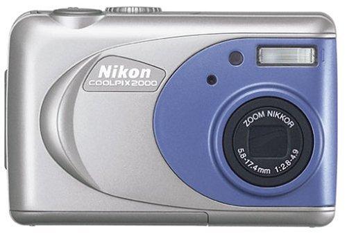 nikon coolpix 2000 digital camera amazon co uk camera photo rh amazon co uk Nikon Camera User Manual Nikon Coolpix L30 Manual