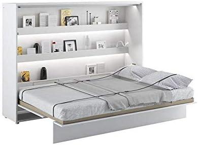 lenart lit escamotable horizontal 140 x
