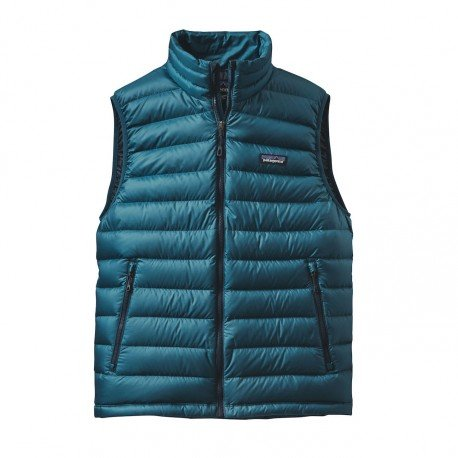 Patagonia M's Down Sweater Vest, Deep Sea Blue, S