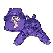 Protect Me Alert Series 880 Count 2-Piece Snowsuit with Cold Alert Patch, Medium, Purple