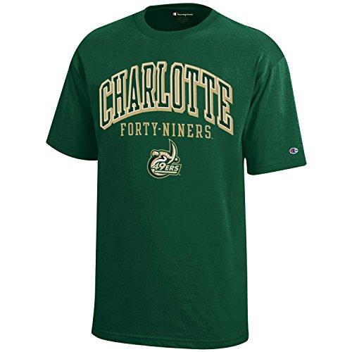 NCAA Champion Boy's Short Sleeve Jersey T-Shirt Charlotte 49ers Small