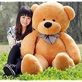 Toyhub Stuffed Soft Teddy Bear (Brown, 5 Feet)