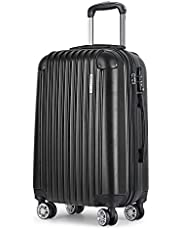 Wanderlite Luggage Suitcase Trolley Travel Carry On Bag Lightweight Hard Case