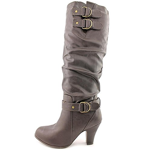 Rampage Eleanor, Fashion Stiefel Frauen, Pumps rund Brown