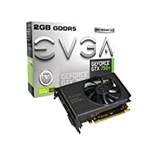 EVGA GeForce GTX 750 Ti with G-SYNC Support 2GB GDDR5 128 Bit, Dual-Link, DVI-I, HDMI, DP Graphics Card (02G-P4-3751-KR)