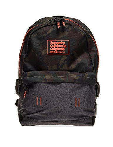 Superdry Men's Camo Inter Montana Men's Camo Backpack Grey by Superdry