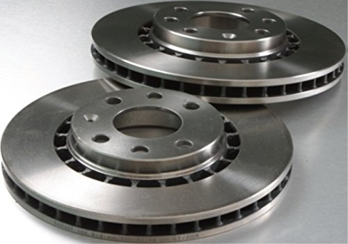 Unipart Brake Discs Pair GBD1289 Vented 283mm 4 Hole