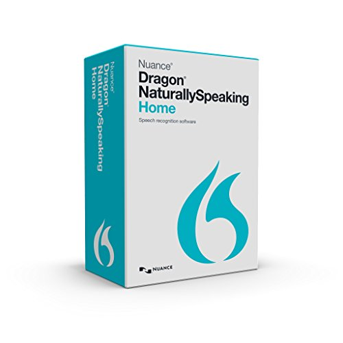 Nuance Dragon Dragon NaturallySpeaking Home 13 (Old Version) (Keyboard Instruction Software)