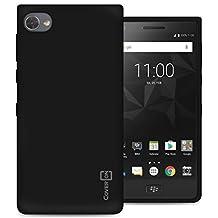 BlackBerry Motion Case, CoverON FlexGuard Series Premium Slim Fit Flexible TPU Rubber Phone Cover for Motion - Black