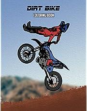 Dirt Bike Coloring Book: Volume 1