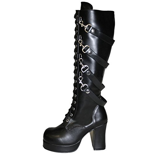 Demonia - Defining Alternative Footware Plateau Stiefel Gothika-209