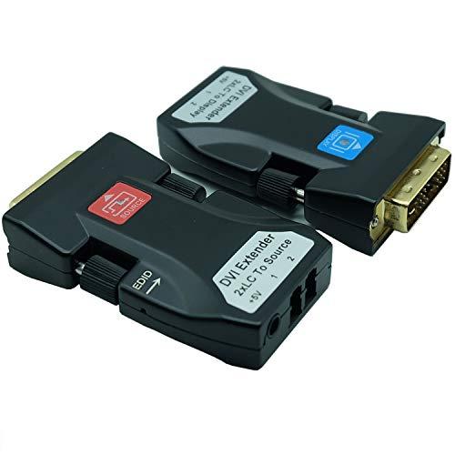 DKHC-205D DVI Fiber Extender DVI to Fiber Transceiver Mini 2XLC DVI Extender Module