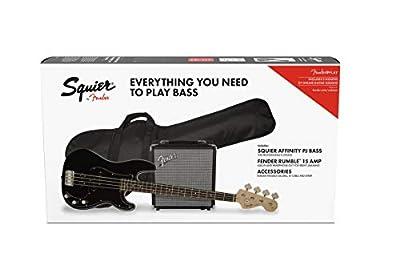 Squier by Fender Affinity Series Precision Bass PJ Beginner Pack, Laurel Fingerboard
