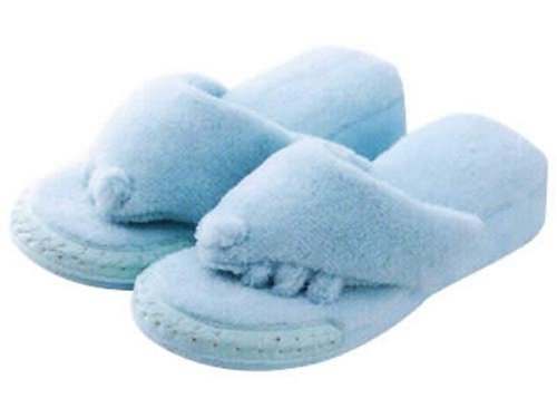 Five Toe Slippers (Blue) by Alfax