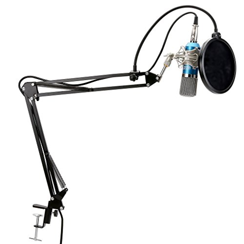 Podcasting Recording Microphone Adjustable Suspension Boom