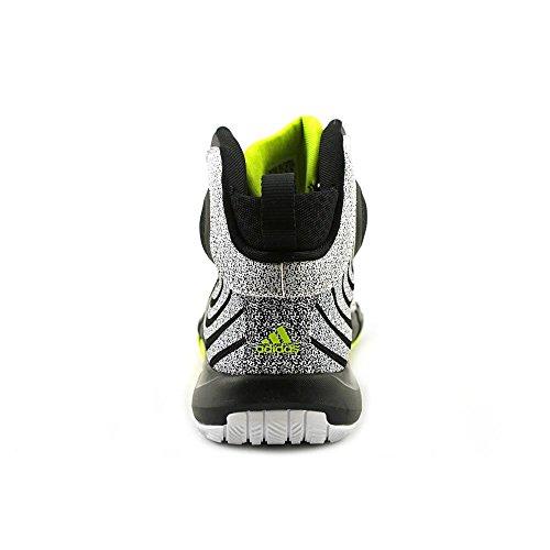 Adidas D Howard 4 Mens Basketskor Vit / Svart / El