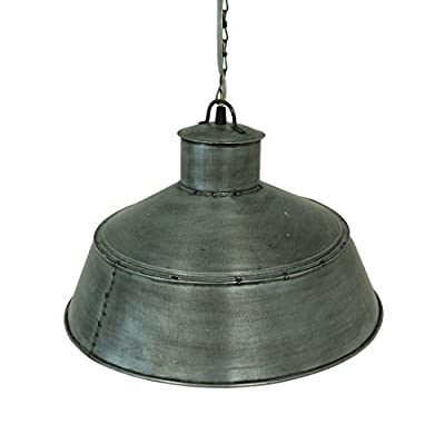 Springhouse Pendant Brushed Tin