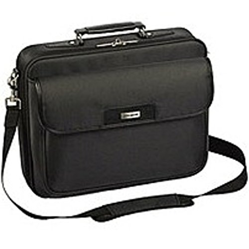 Targus TBC023US Zip- Thru Traditional Laptop Case for 15.4-inch Display Screen - Black by Targus