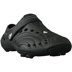 DAWGS Women's Golf Spirit Walking Shoe,Black/Black,9 M US
