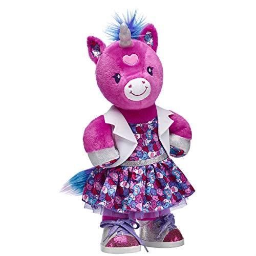 ec079fab5 Build A Bear Workshop Candy Hearts Unicorn Stuffed Animal Set Toy