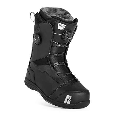 Nidecker Triton BOA Focus Snowboard Boots 2019 Black 9.5