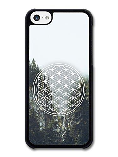 Mandala Flower of Life Illustration Landscape Photography Hipster case for iPhone 5C