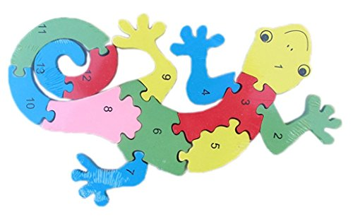 Gecko Wooden Jigsaw Puzzle