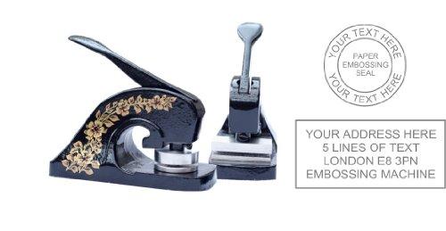 Prägemaschine für Firmenstempel oder -Adresse Papier-Prägung