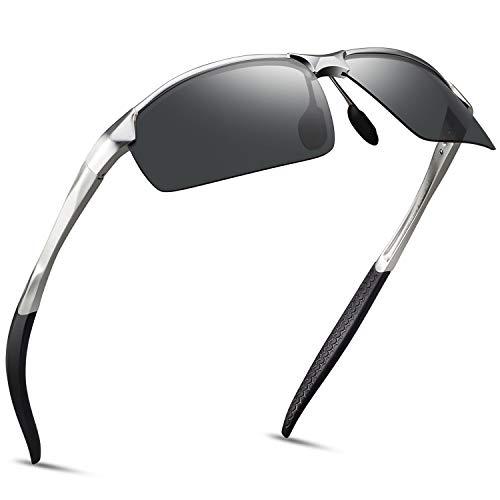 SOXICK Anti-Glare Polarized Yellow Lens Day & Night Driving Glasses for Men & Women (Black-1)