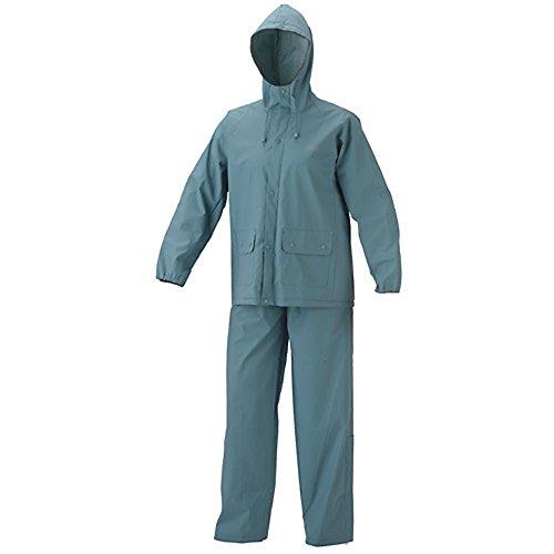 Amazon.com: Coleman Adult Pvc Rain Suit Large Gray: Clothing