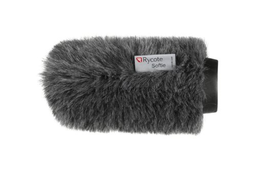 Rycote Softie, Long Hair Wind Diffusion, 14cm Long with Medium Hole, Front Only