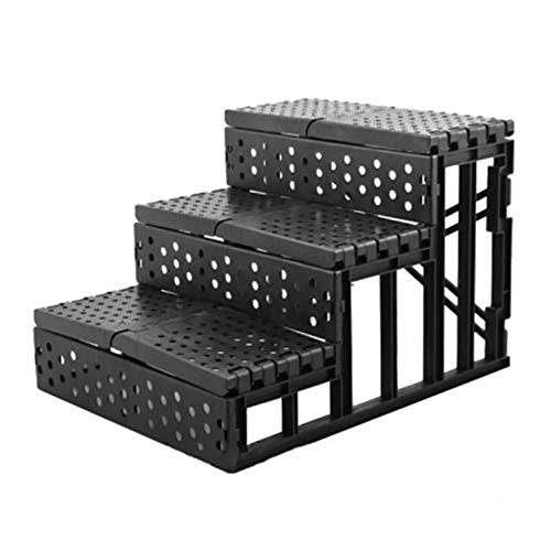 AgoHike Pet Ladder Pet Stairs Cat Dog Ladder Pet Bed Stairs Dog Steps Three Floors
