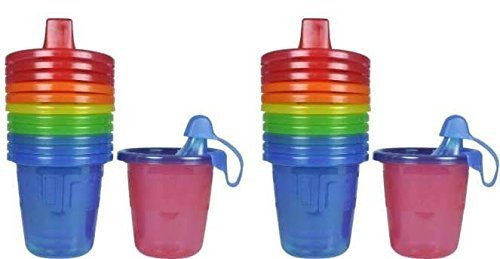 - The First Years Take & Toss Spill-Proof Sippy Cups - 7 Oz - 12 Cups