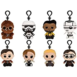 Funko Mini Star Wars-Solo (One Mystery Plush Keychain) Collectible, Multicolor