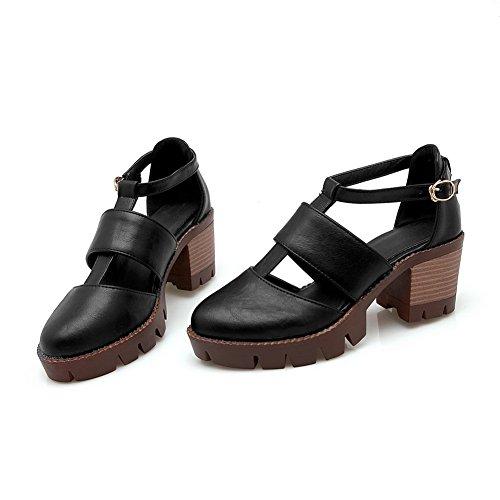 5 Noir Femme Sandales Compensées Balamasa Eu 36 Noir RqSwYRTt7