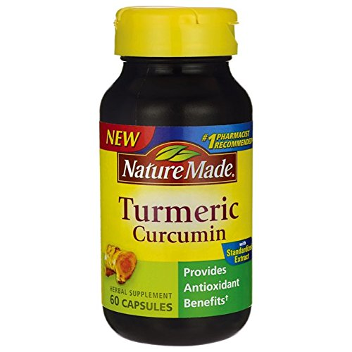 Nature Made Turmeric Curcumin Capsules, 60 Capsules