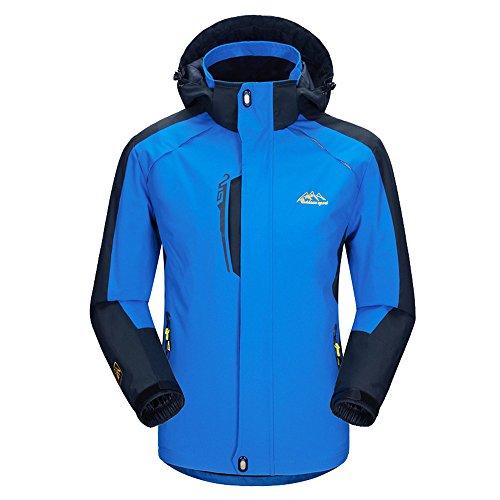 Amazon.com : ELEPHANT DANCING Waterproof Jacket Mens Sportswear Hooded Jacket : Sports & Outdoors