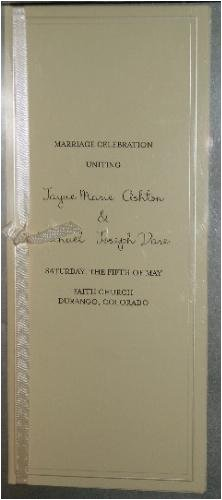 Print Your Own wedding invitations, programs, place cards and more - Set of 50