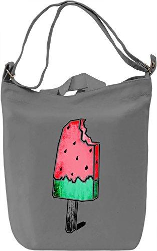 Watermelon Ice Cream Borsa Giornaliera Canvas Canvas Day Bag| 100% Premium Cotton Canvas| DTG Printing|