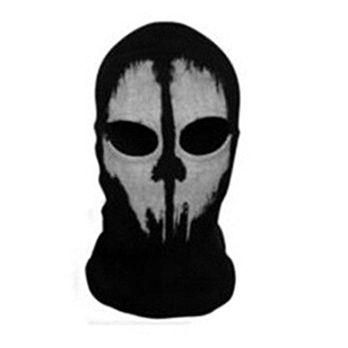 Foremost Ghosts Hoods Skull Skeleton Head Mask Balaclavas - Ghost Mask
