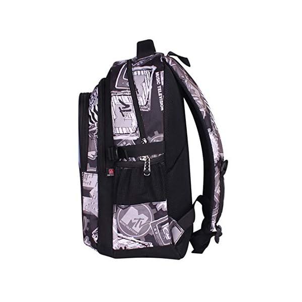MODRYER Batman Zaino per Bambini Kid Borsa Ragazze Bookbag Ragazzi Schoolbag Leggero Zaino 3D Stampa Student Daypack… 3 spesavip