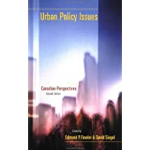Urban Policy Issues: Canadian Perspectives