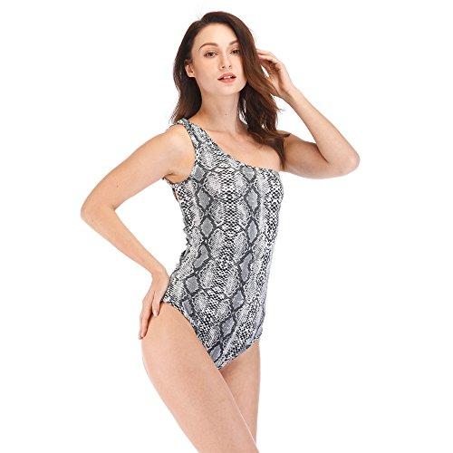 Villa Serpentine 2018 Costume Cinturino Intero Di Donne Resort Nuove XL Di Mare Bikini Cinturino White Sesso Stretto Serie Senza Spalline Spiaggia Moda Spa q7qOwUnRr