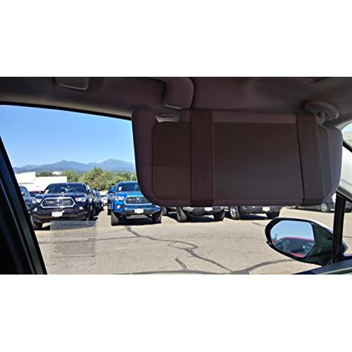 Visormates Side Window Sun Visor Extenders (5x12 Gray with Gray Straps) to  add to ec016580571