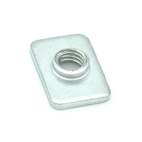 Pre-Assembly Square Nuts Flat M5 T Nut For 2020 Aluminum