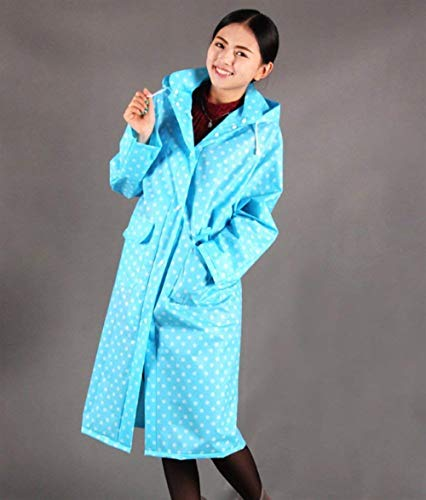 Moda De Para Bicycle Impermeable Plaid Dots Farbe Mujeres Outdoor Polka Fashion Chubasquero Laisla Con Rainwear Impermeables 5 Capucha Clásico Poncho Mujer qngfwA