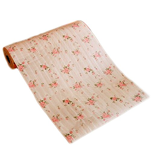 Freedi Shelf Liner Non-Adhesive Drawer Paper Dot Pattern Contact Paper Decorative for Kitchen Table Refrigerator ()