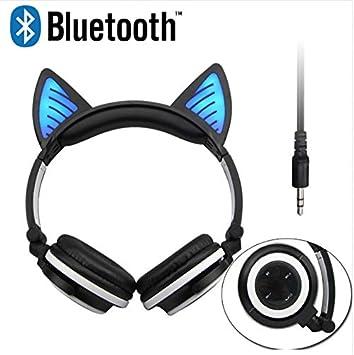 Kopfhörer Bluetooth Kabellos On Ear Katzenohr Kopfhörer Elektronik