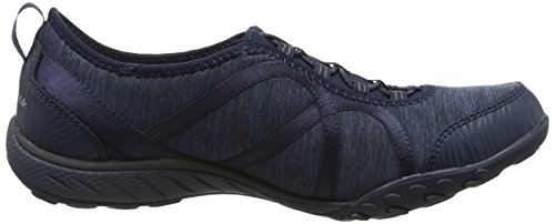Zapatillas SkechersBreathe Easy mujer Nvy Azul Blue Fortune n40P4A